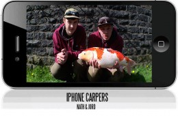 The iPhone Carpers – Nath And Jord – Urban Fishing
